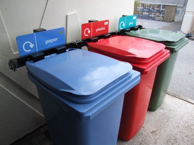 Recycling Station – 2 Wheeled Bin