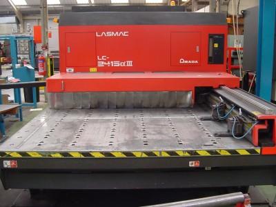 Amada LC 2415 Alpha III 4KW Laser Cutting Machine